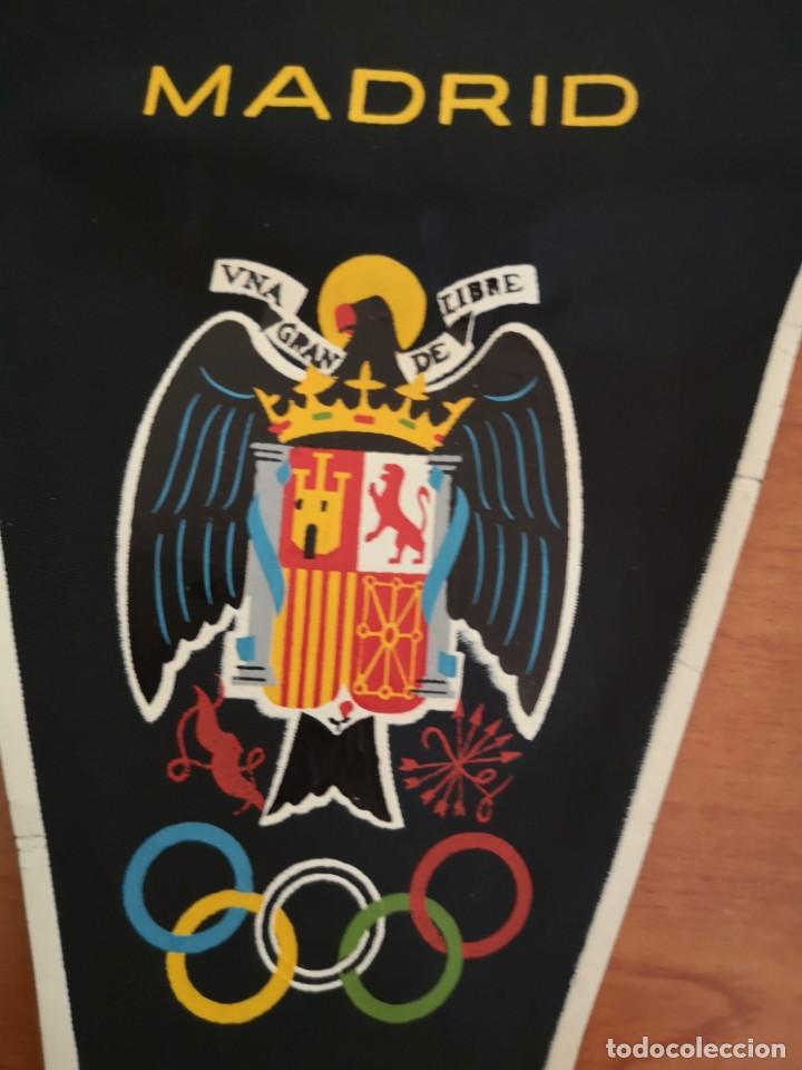 Coleccionismo deportivo: Banderin delegación nacional D. E. F y deportes 1960 - Foto 4 - 165840598