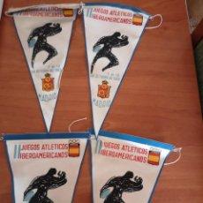 Coleccionismo deportivo: BANDERIN JUEGOS ATLÉTICOS IBEROAMERICANOS 1962. Lote 165842702