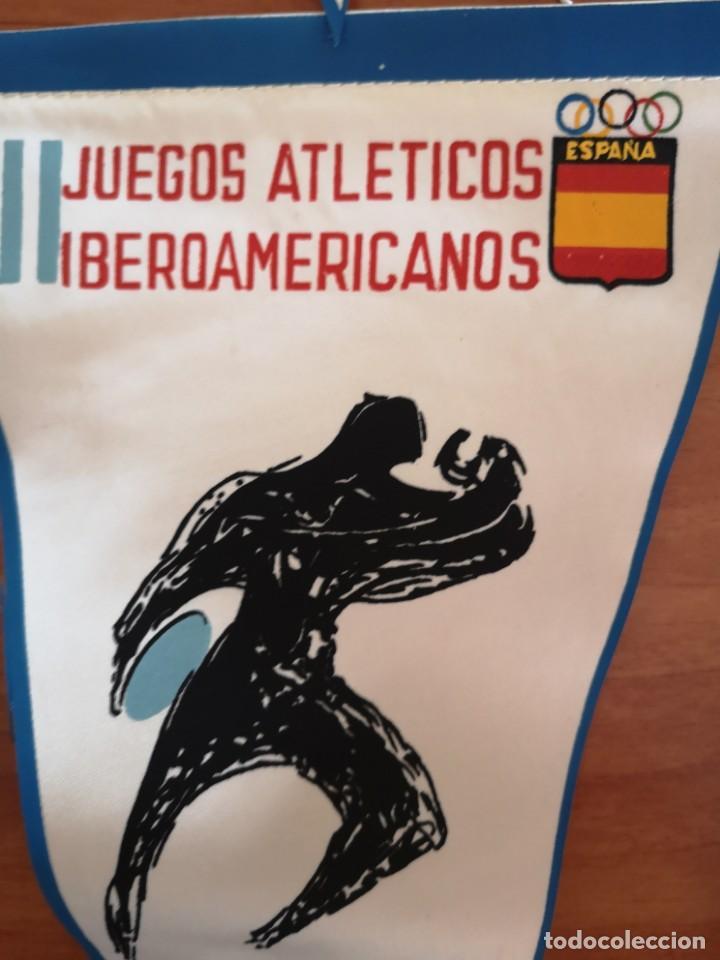 Coleccionismo deportivo: Banderin juegos atléticos iberoamericanos 1962 - Foto 3 - 165842702