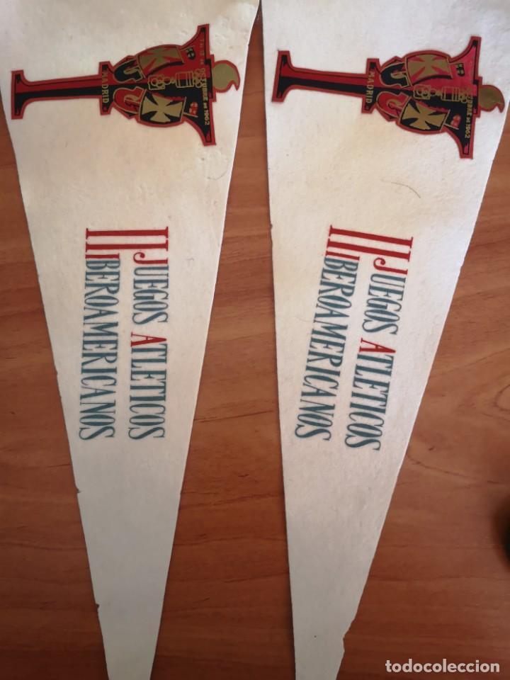 BANDERIN II JUEGOS IBEROAMERICANO 1962 (Coleccionismo Deportivo - Banderas y Banderines otros Deportes)