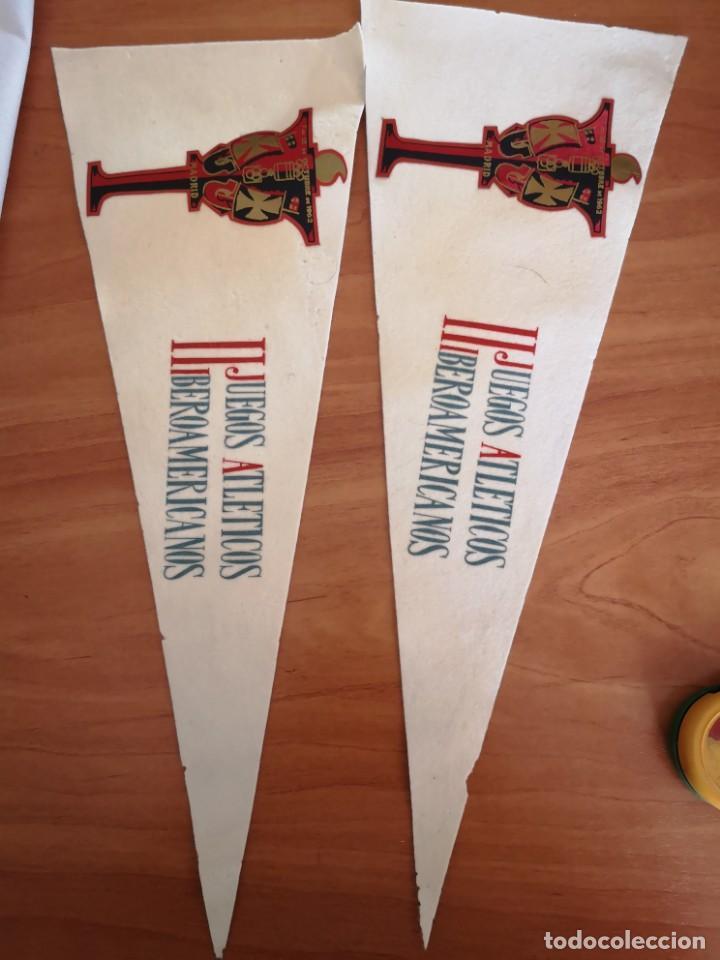 Coleccionismo deportivo: Banderin II JUEGOS Iberoamericano 1962 - Foto 2 - 165844138