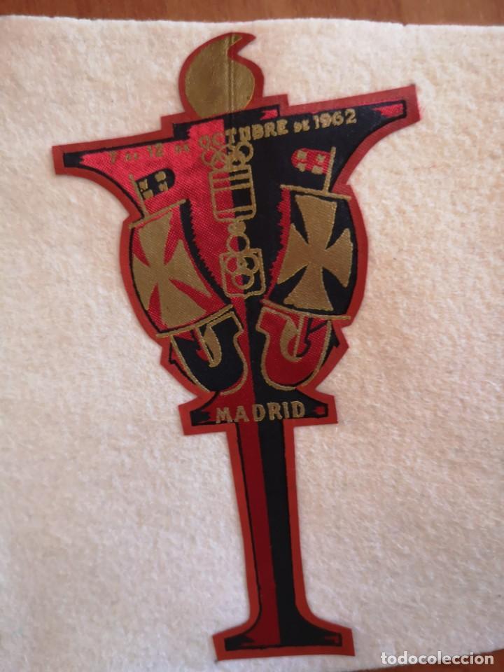 Coleccionismo deportivo: Banderin II JUEGOS Iberoamericano 1962 - Foto 3 - 165844138