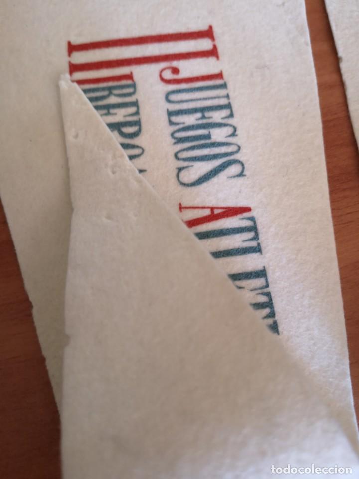 Coleccionismo deportivo: Banderin II JUEGOS Iberoamericano 1962 - Foto 6 - 165844138