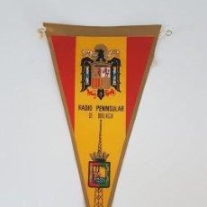 Sammelleidenschaft Sport - BANDERIN RADIO PENINSULAR MÁLAGA ( AÑOS 60 ) - 168815220