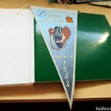 Coleccionismo deportivo: ANTIGUO BANDERÍN CAMPEONATO NACIONAL JUVENIL DE ATLETISMO. PALENCIA. 1962. Lote 168960186