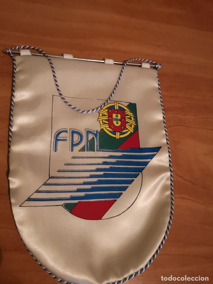 Coleccionismo deportivo: Banderin federación portuguesa de natación - Foto 2 - 169228096