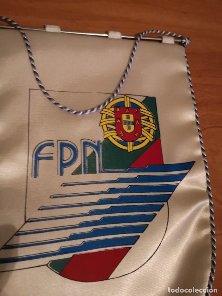Coleccionismo deportivo: Banderin federación portuguesa de natación - Foto 4 - 169228096