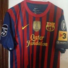 Coleccionismo deportivo: FC BARCELONA M CHAMPIONS LEAGUE CAMISETA FUTBOL FOOTBALL SHIRT . Lote 169801988