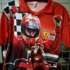 Coleccionismo deportivo: FERRARI F1 S SCHUMACKER LEGEND RUGBY POLO CAMISETA SHIRT . Lote 170057144