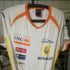 Coleccionismo deportivo: RENAULT F1 S FERNANDO ALONSO MOTO POLO CAMISETA JERSEY SHIRT . Lote 170057376