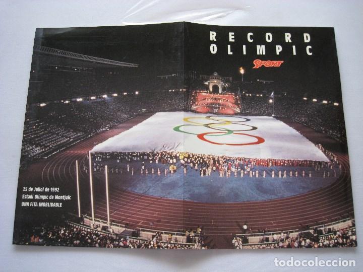 Coleccionismo deportivo: BANDERA OLIMPICA BARCELONA 92 - Foto 5 - 170955872
