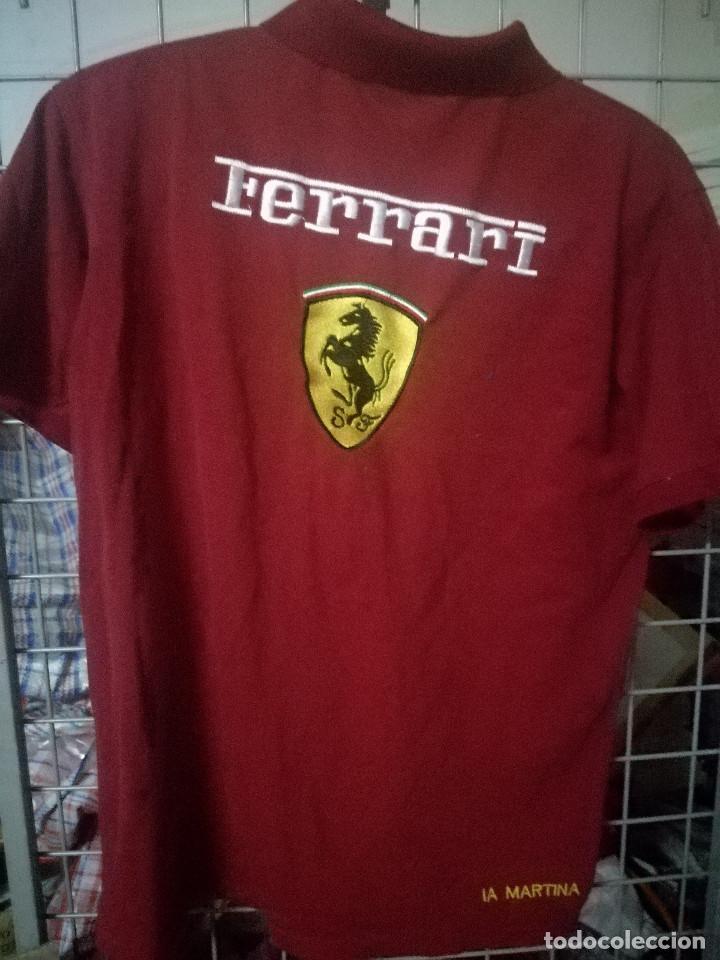 Coleccionismo deportivo: La Martina Ferrari L F1 polo camiseta shirt shirt - Foto 2 - 171037638
