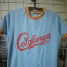 Coleccionismo deportivo: CATALUNYA MATCH WORN BASEBALL BEISBOL SHIRT CAMISETA L . Lote 171040192