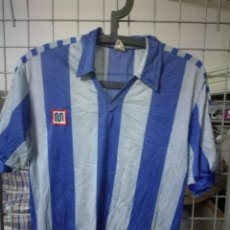Coleccionismo deportivo: MEYBA 1980 VINTAGE RCD ESPANYOL RECREATIVO HUELVA S FUTBOL FOOTBALL CAMISETA SHIRT . Lote 171232089