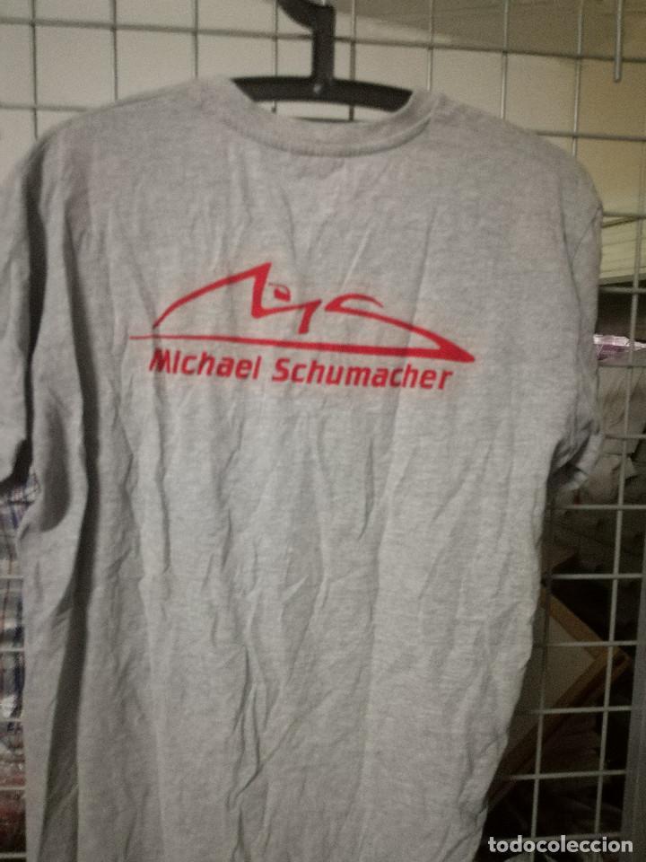 Coleccionismo deportivo: Schumacker camiseta shirt F1 S - Foto 2 - 171240985