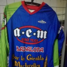 Coleccionismo deportivo: TRIAL MOTOCROSS CAMISETA SHIRT M MATCH WORN PILOT . Lote 171241043