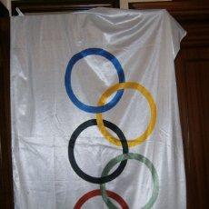 Coleccionismo deportivo: BANDERA ORIGINAL DE LAS OLIMPIADAS DE BARCELONA 92 . Lote 173534297