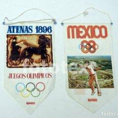 Coleccionismo deportivo: BANDERIN BIMBO OLIMPIADAS ATENAS, MEXICO. Lote 175802897