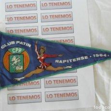 Coleccionismo deportivo: BANDERÍN DE TELA DE CLUB PATÍN RAPITENSE 1964 . Lote 177378134