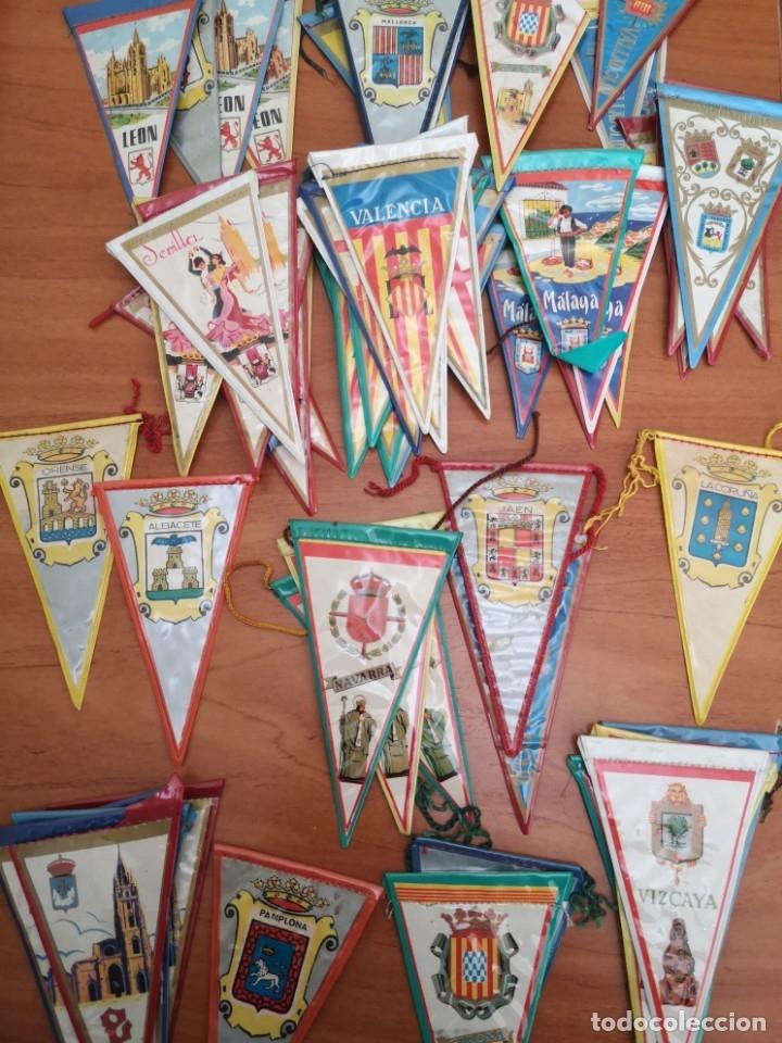 BANDERINES DE CIUDADES ESPAÑOLAS (Coleccionismo Deportivo - Banderas y Banderines otros Deportes)