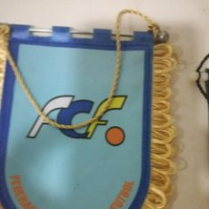 Coleccionismo deportivo: CANARIAS FEDERACION SMALL PENNANT BANDERIN SCARF BUFANDA FOOTBALL FUTBOL SCIARPA. Lote 178258591