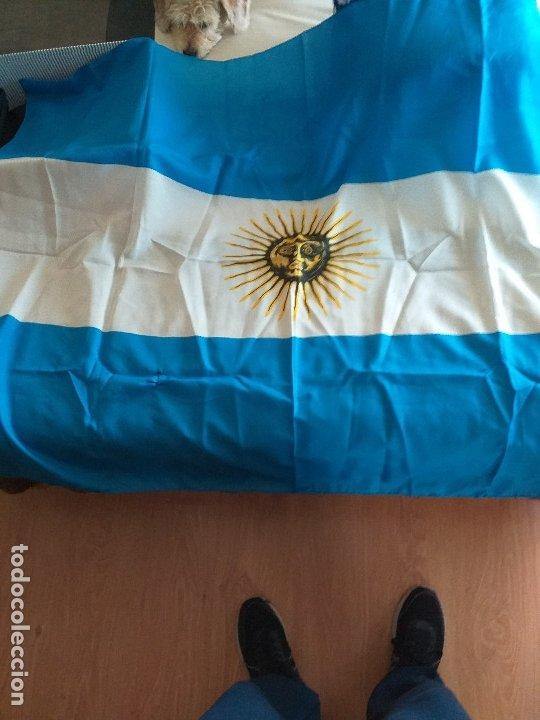 BANDERA DE ARGENTINA (Coleccionismo Deportivo - Banderas y Banderines otros Deportes)