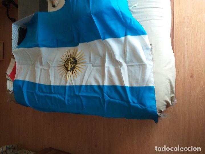 Coleccionismo deportivo: BANDERA DE ARGENTINA - Foto 2 - 178975692