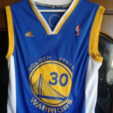 Colecionismo desportivo: GOLDEN STATE WARRIORS NBA EQU L BASKET BASQUET CAMISETA SHIRT . Lote 179236445