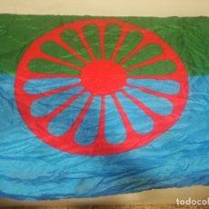 Coleccionismo deportivo: GITANA BANDERA GYPSY FLAG . Lote 179242536