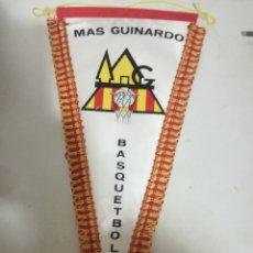 Coleccionismo deportivo: GUINARDO BASQUET FINAL PENNANT BANDERIN SCARF FUTBOL FOOTBALL BANDERA FLAG . Lote 179243123