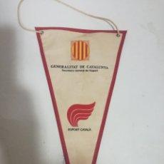 Coleccionismo deportivo: GENERALITAT PENNANT BANDERIN SCARF FUTBOL FOOTBALL BANDERA FLAG . Lote 179243400
