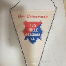 Coleccionismo deportivo: TUS HOLLE GRASDORF GERMANY PENNANT BANDERIN SCARF FUTBOL FOOTBALL BANDERA FLAG . Lote 179243456