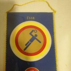 Coleccionismo deportivo: CSSR CCCP SOVIET PENNANT BANDERIN SCARF FUTBOL FOOTBALL BANDERA FLAG . Lote 179243722