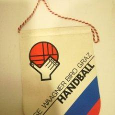 Coleccionismo deportivo: GRAZ AUSTRIA HANDBALL PENNANT BANDERIN SCARF FUTBOL FOOTBALL BANDERA FLAG . Lote 179243762