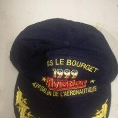 Collezionismo sportivo: FRANCE AERONAUTIQUE CAP GORRA RACING MOTOGP MOTO TEAM RALLY SPORT F1. Lote 179253740