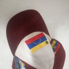 Coleccionismo deportivo: VENEZUELA COPA AMERICA FUTBOL CAP GORRA RACING MOTOGP MOTO TEAM RALLY SPORT F1. Lote 179253991