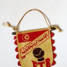 Coleccionismo deportivo: BANDERÍN BOXEO: FTB - FEDERACION TUNECINA DE BOXEO - ORIGINAL DE LOS AÑOS 70 - TUNEZ TUNISIE . Lote 179322111