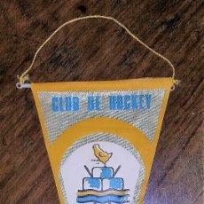 Coleccionismo deportivo: BANDERIN CLUB DE HOCKEY RIPOLLET. 1970.. Lote 181512552