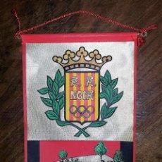 Coleccionismo deportivo: BANDERIN A. A. NOIA. PABELLÓ DE L'ATENEU. SANT SADURNÍ D'ANOIA.. Lote 181513007