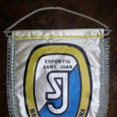 Coleccionismo deportivo: BANDERIN BANDEROLA ESPORTIU SANT JOAN. MARISTES. BARCELONA.. Lote 181514273