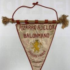Coleccionismo deportivo: BALONMANO - PIZARRO FRENTE DE JUVENTUDES ELDA - 1959. Lote 181608661