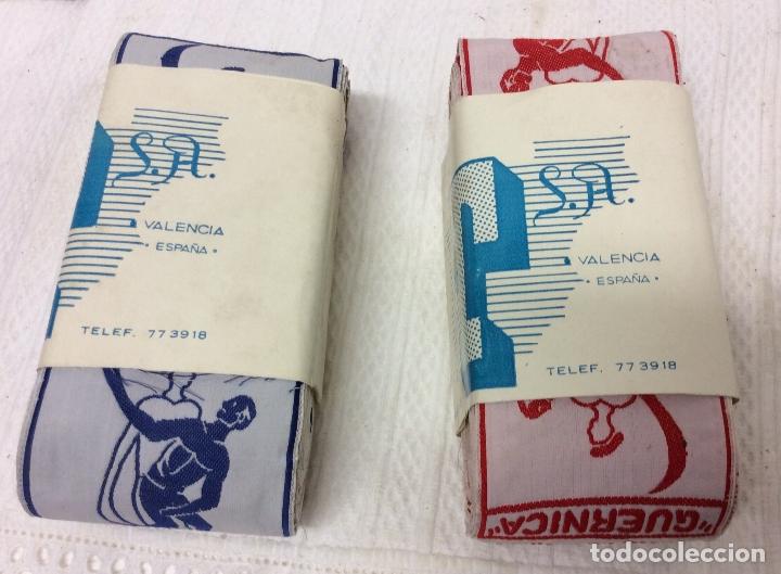 Coleccionismo deportivo: CINTAS SERIGRAFIADA O BORDADA CON PUBLICIDAD DEL FRONTÓN JAI-ALAI-VALENCIA - Foto 3 - 182087741