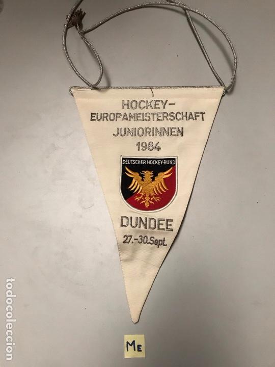 ANTIGUO BANDERÍN HOCKEY (Coleccionismo Deportivo - Banderas y Banderines otros Deportes)