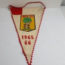 Coleccionismo deportivo: BANDERIN DE LA FEDERACION VIZCAINA DE BALONMANO. Lote 190908265