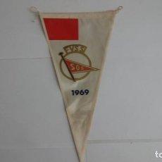 Coleccionismo deportivo: BANDERIN FEDERACION VIZCAINA DE SALVAMIENTO Y SOCORRISMO. Lote 190912280