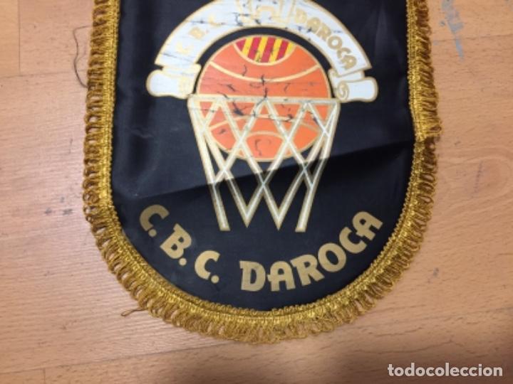 Coleccionismo deportivo: BANDERIN VINTAGE CLUB BASKET CONSERVAS DAROCA, - Foto 4 - 151461162