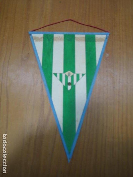 ANTIGUO BANDERÍN EN CARTULINA BETIS BALOMPIÉ (Coleccionismo Deportivo - Banderas y Banderines otros Deportes)