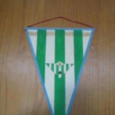 Coleccionismo deportivo: ANTIGUO BANDERÍN EN CARTULINA BETIS BALOMPIÉ . Lote 194152763