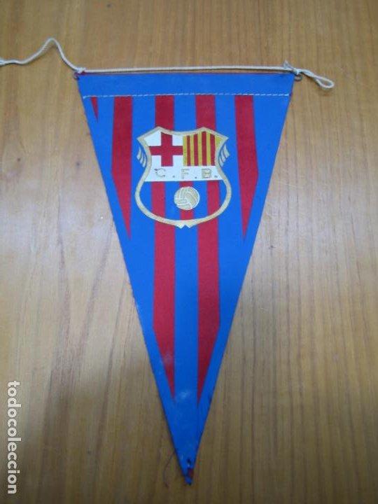 ANTIGUO BANDERÍN BARCELONA CF (Coleccionismo Deportivo - Banderas y Banderines otros Deportes)