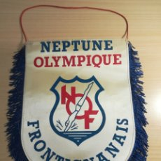 Coleccionismo deportivo: BANDERIN - NEPTUNE OLYMPIQUE FRONTIGNANAIS. Lote 194350740